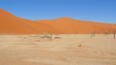 Dvlei namibia icon  pan uhd 4k Stock Footage