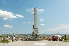 Obelisk Of Horea, Closca And Crisan - stock photo