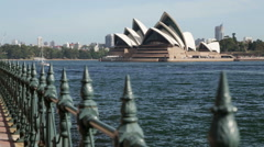 Sydney Opera House - Dolly Shot Stock Footage