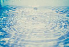 Retro look Water droplet Kuvituskuvat