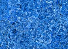 Relief blue crystal backgrounds Stock Illustration