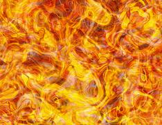 Hot fire texture backgrounds Stock Illustration