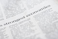 strongest economies - stock photo