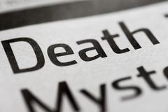death single word - stock photo