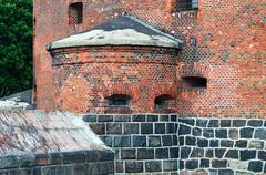 Defensive tower dohna. kaliningrad (formerly koenigsberg), russia Stock Photos