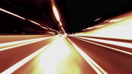 Stock Video Footage of 4K timelapse Hyperlapse Athens highway night traffic pov vj loop