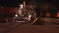 #473 pulling off turntable Stock Footage