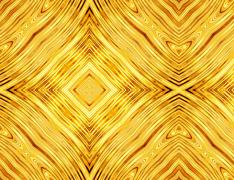 abstract pattern of golden symmetrical square - stock illustration