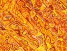 hot fire wavy texture backgrounds - stock illustration