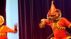 Mayura natuma, Peacock dance Kandyan Dancers Sri Lanka. Stock Footage