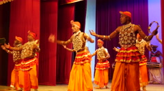 Pantheru natuma dance Kandyan Dancers Sri Lanka. Stock Footage
