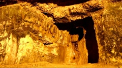 King Solomon's Quarries. Jerusalem Stock Footage