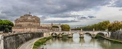 Castle st. angelo in rome italy Stock Photos