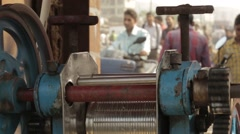 Mumbai urban city shot Stock Footage