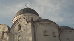 Ukraine, ancient Orthodox churches Stock Footage