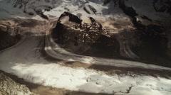 Matterhorn Glacier Trail Stock Footage