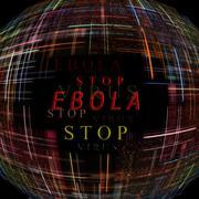 Ebola virus epidemic concept.digitally generated image. Stock Illustration