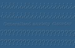 Stock Illustration of anxiety disorder