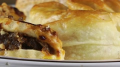 Savory Pastry - stock footage