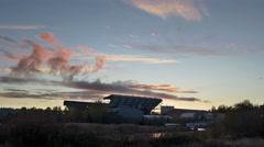 Husky Stadium, college, football, University of Washington, 4K, UHD Stock Footage