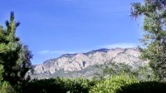 Sandia Mountains, Albuquerque Stock Footage