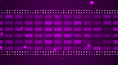 abstract loop motion background, purple frame - stock footage