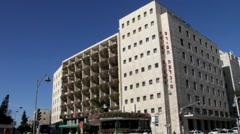 Prima Kings Hotel. Jerusalem. Israel Stock Footage