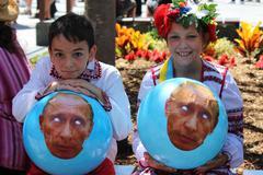 Anti Vladimir Putin Stock Photos