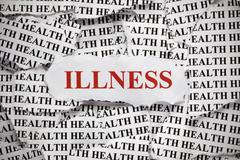 Stock Photo of illness