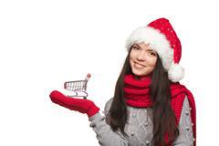 Christmas shopping concept Kuvituskuvat