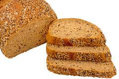 Wholemeal bread Stock Photos