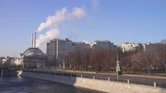 moscow. bolotnaya embankment - stock footage