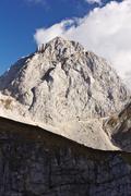 Mount mangart, slovenia Stock Photos