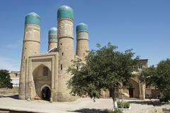 Madrassa Chor Minor, Uzbekistan - stock photo