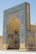 Mosque Kalon, Bukhara, Uzbekistan - stock photo