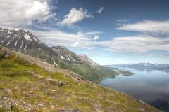 Northern Norway landscape Kuvituskuvat