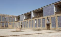 Palace Toshxovli, Khiva, Uzbekistan Stock Photos