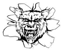 Wolf or werewolf breakout Piirros