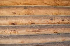 Horizontal boards with natural drawing Stock Photos