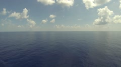 Beautiful Blue Ocean Stock Footage