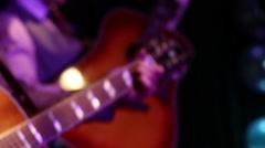 Band Playing at Wedding - Close Up HD Stock Footage
