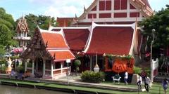 WAT BANG PENG TAI, MIN BURI, THAILAND - 18 Stock Footage