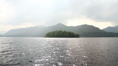 Lake District - Tracking Shot Over Water HD Stock Footage