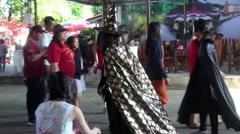 WAT BANG PENG TAI, MIN BURI, THAILAND - 3 Stock Footage