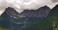 Lush Mountainside Greenery and Scenery Stock Footage