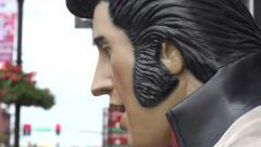 Elvis statue on broadway, nashville, tn, usa Stock Footage