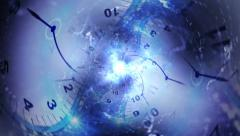 Time Travel Tunnel Concept Background - stock footage