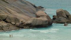 Rocky Cape Near Esperance, Western Australia Stock Footage