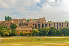 Palatine hill rome, italy Stock Photos