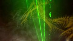 Experimental Lasers Stock Footage